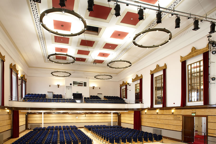 All the lighting is controlled digitally using a fully programmable dimmable DALI control system which allows for numerous scene settings and is interfaced ... & THE VICTORIA ROOMS BRISTOL - Ron Clark Electrical